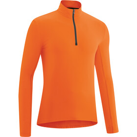 Gonso Christian Maillot À Manches Longues Homme, red orange
